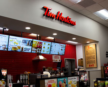 Tim Hortons located inside Delta Sonic